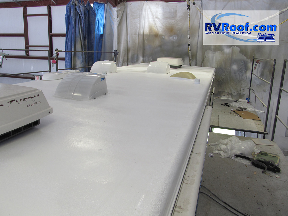 RV-roof-Flexarmor-lifetime-no-leak-guaranteed-roof