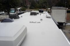 Finished-sprayed-rv-roof-FlexArmor