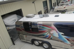 Prevost-motorcoach-with-finished-sprayed-rv-roof-FlexArmor