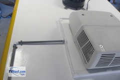 FlexArmor over rv air conditioner drain system