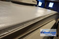 Side drip rail FlexArmor RV roof
