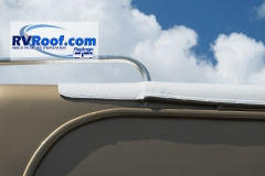 Side radius of FlexArmor on motorhome