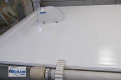Sprayed RV roof RV FlexArmor