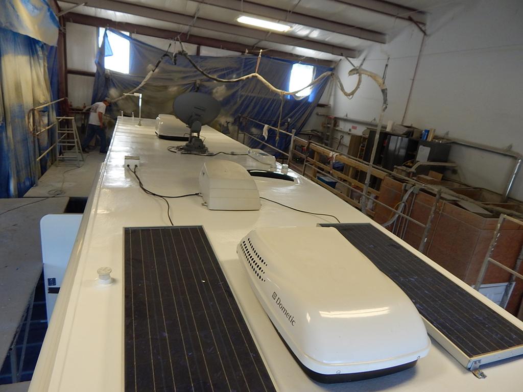 motorhome-roof-repair-solar-panels