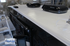 Sprayed RV roof RV FlexArmor