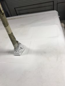 Seamless FlexArmor applied after tornado damage was repaired