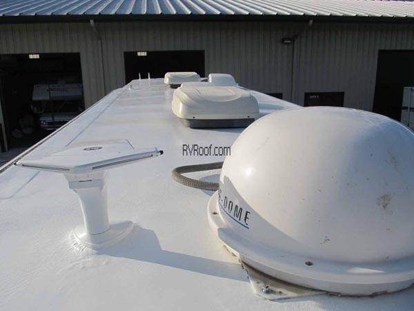 The Original Sprayed Rv Roof Lifetime Guarantee