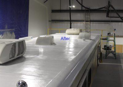 rebuilding rv roof after image