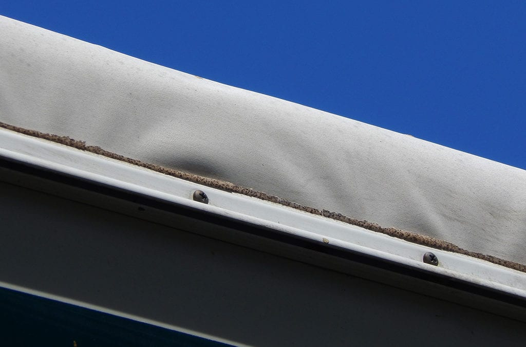 Wrinkles in an EPDM Rubber Roof on RVs. Repair or Cosmetic?