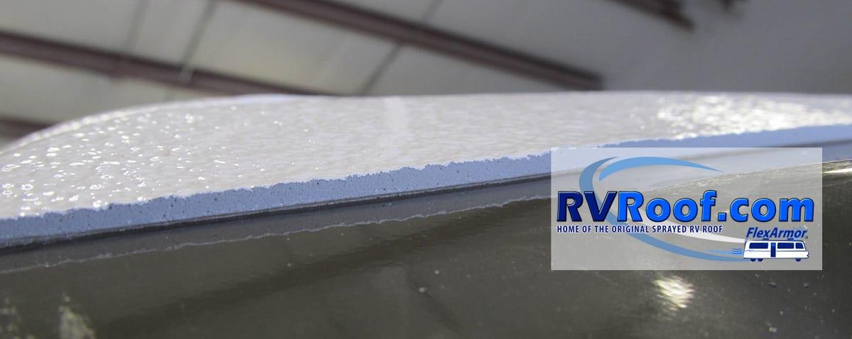 Lifetime Rv Roof Repair Video Flexarmor For The Life Of