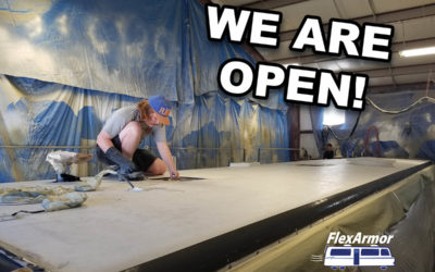 We are OPEN!!