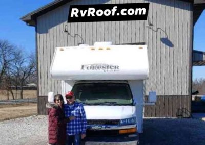 Class C RV Roof repair