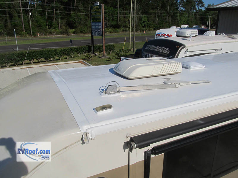 after rv roof repair